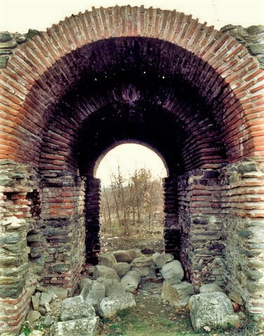 Развалины в Юстиниане Приме