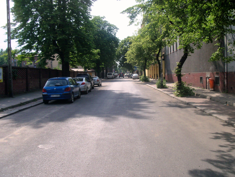 Ulica Raciborska w Katowicach
