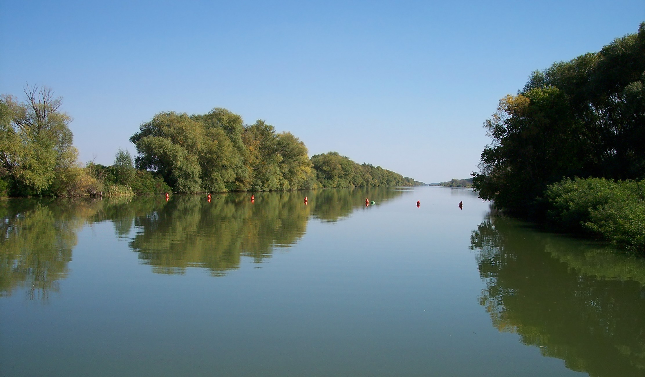 The tranquil Ketts-Körös river.