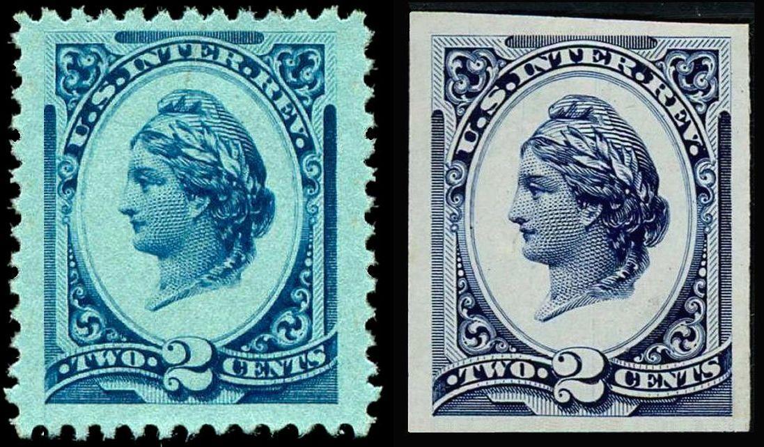 FileLiberty Revenue 2c 1875 R152 Pair
