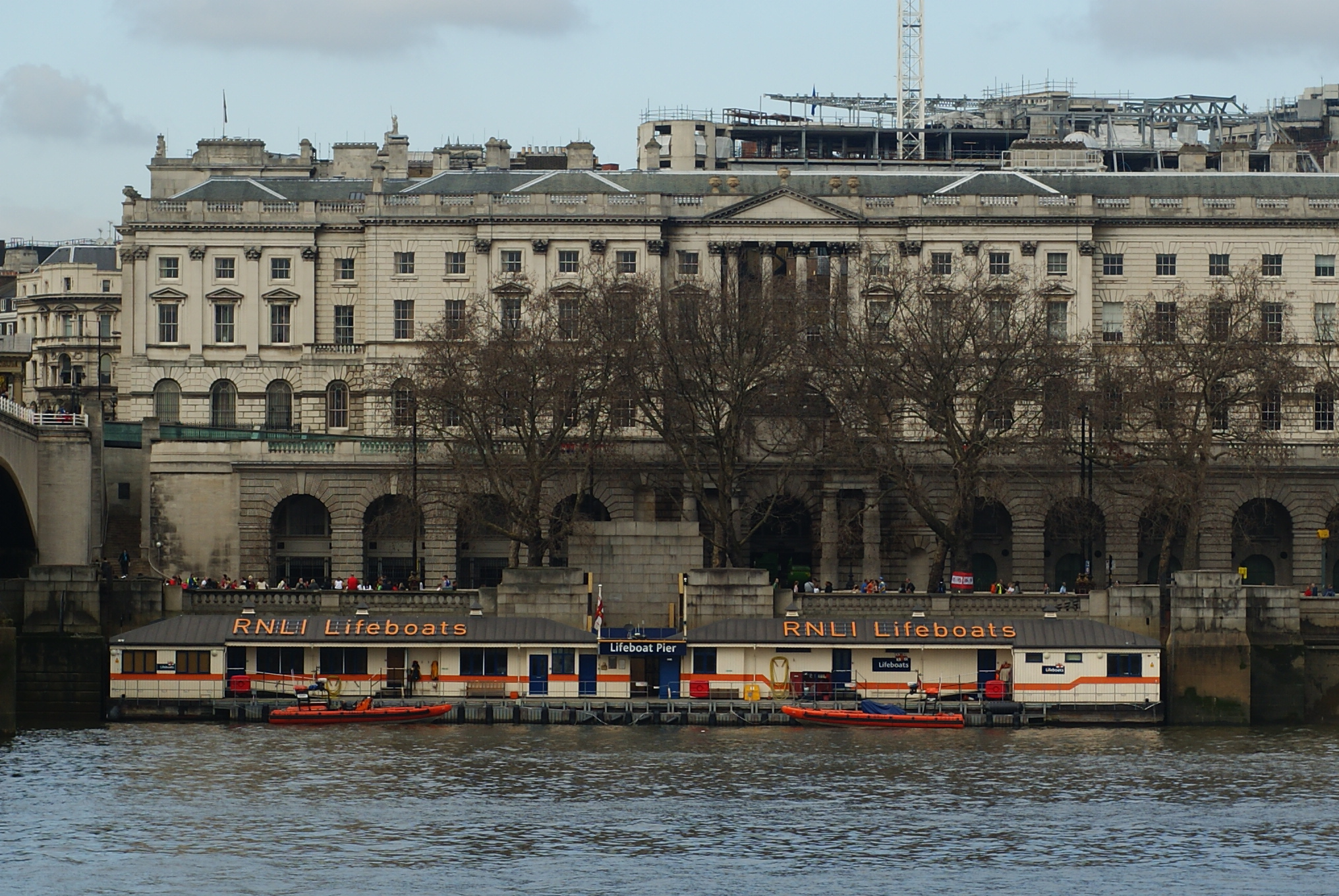 File Lifeboat Pier Victoria Embankment London Geograph Org Uk