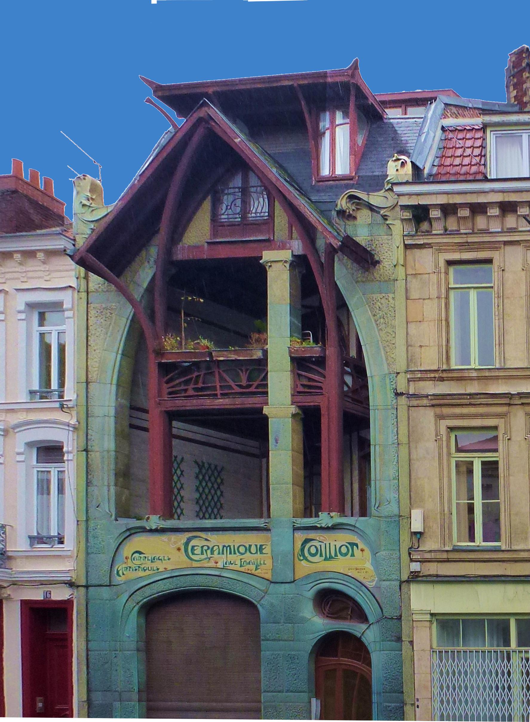 File lille 14 rue de fleurus la maison coilliot for 82 rue brule maison lille