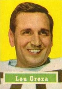 Lou Groza American football player