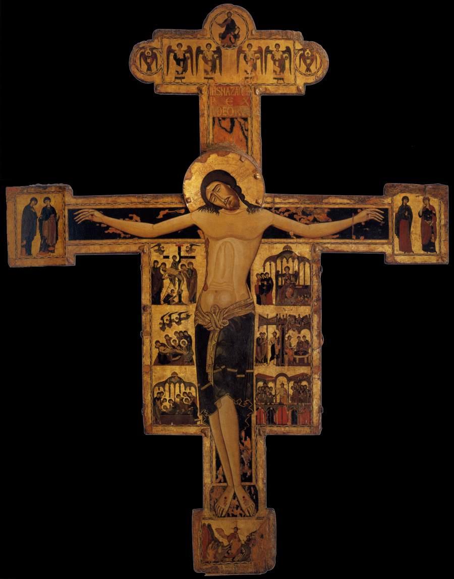 File:Maestro bizantino, crocifisso del museo nazionale di ...
