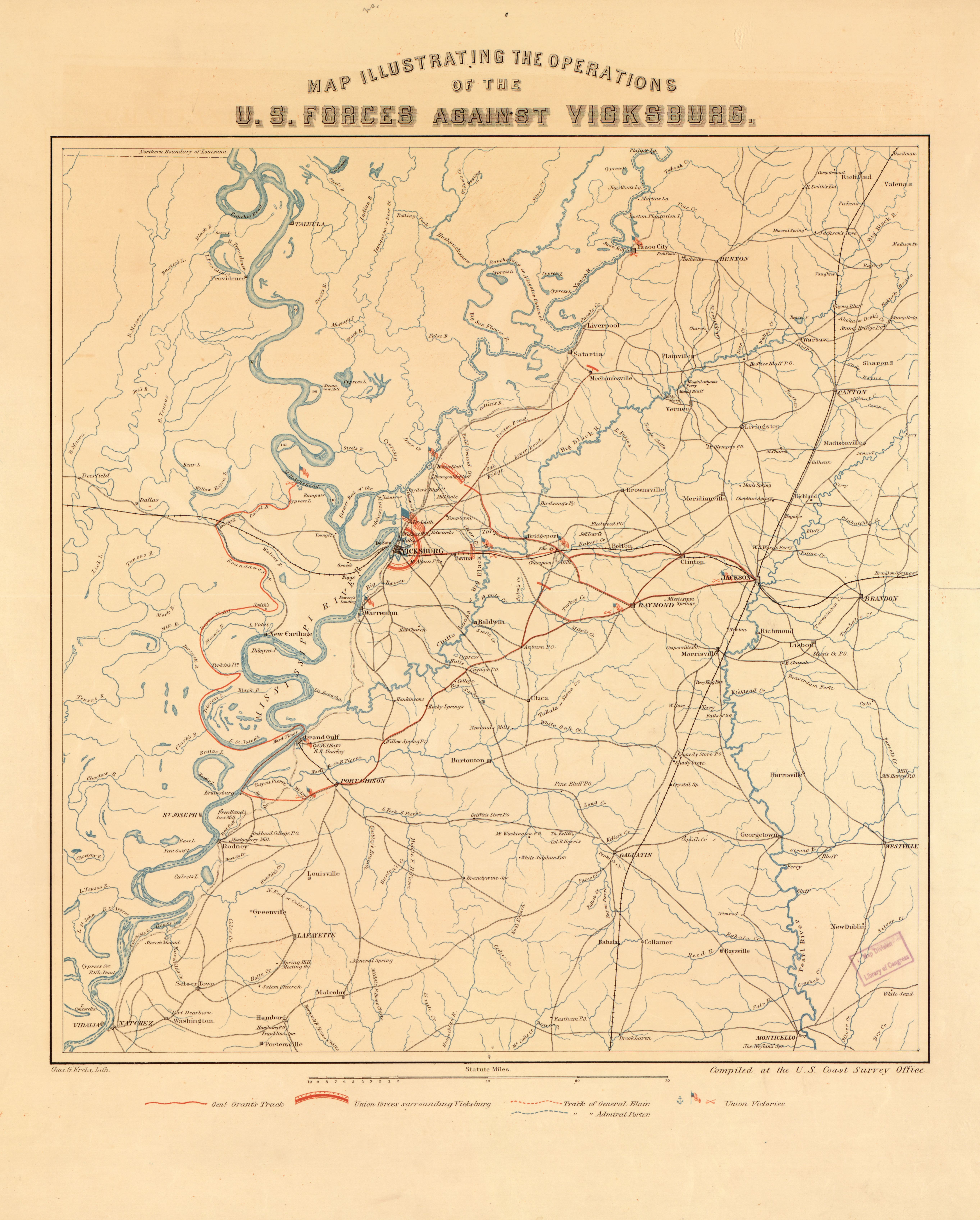 Filemap Illustrating The Operations Of The Us Forces Against - Vicksburg-on-us-map