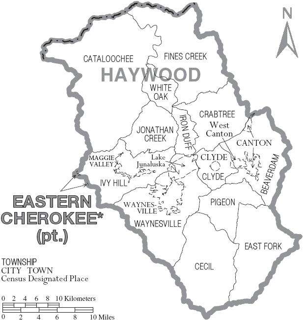 File:Map of Haywood County North Carolina With Municipal andhaywood county