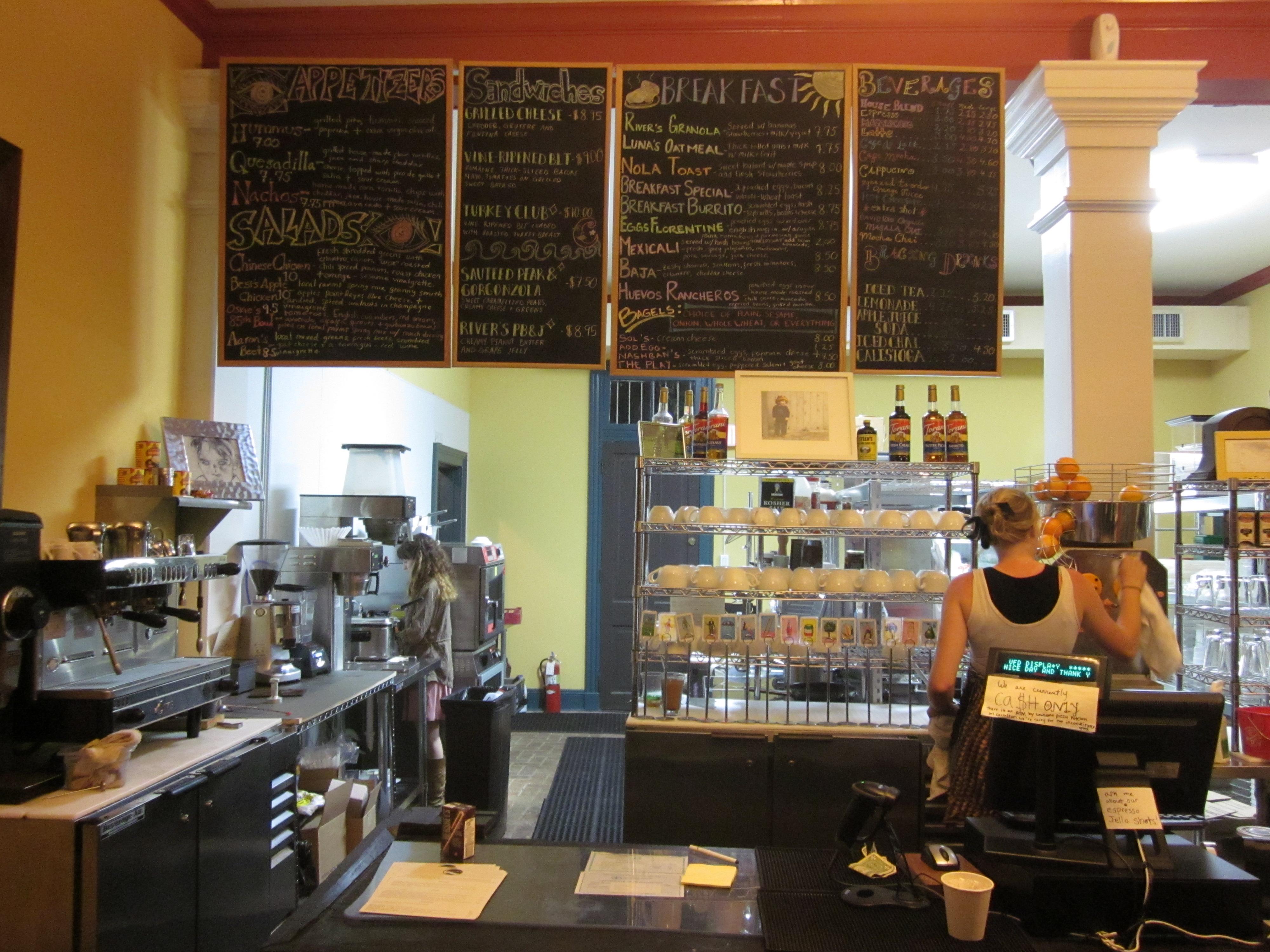 Cafe Menu Boards Uk