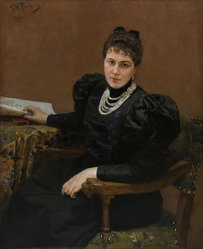Maria Tenisheva by I.Repin (1896, Smolensk Art gallery).jpg