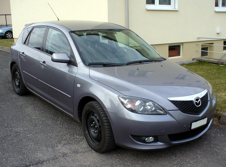 2008 mazda 3 grey