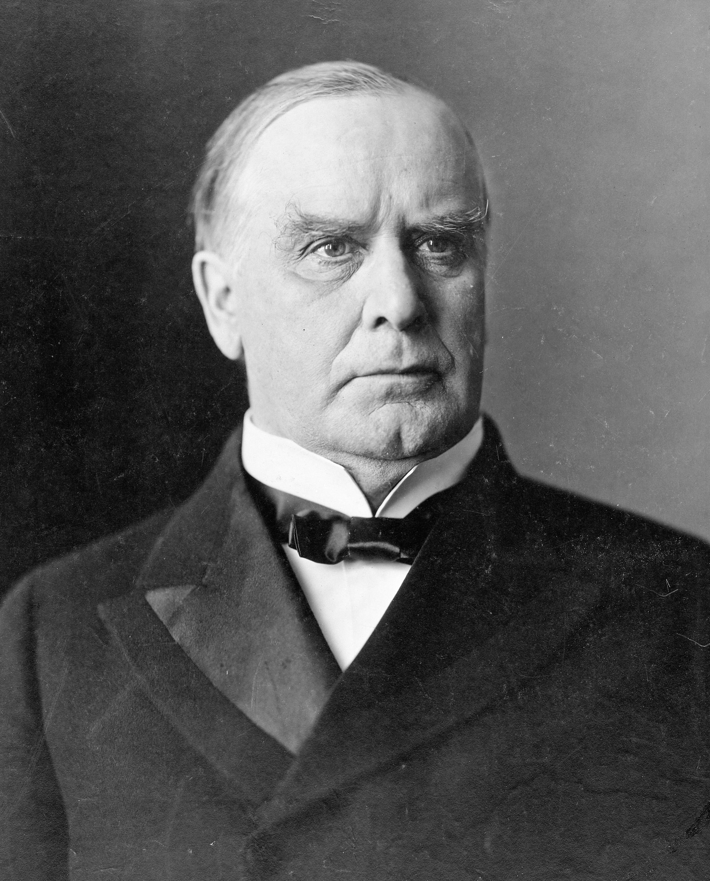 President William McKinley of those United States