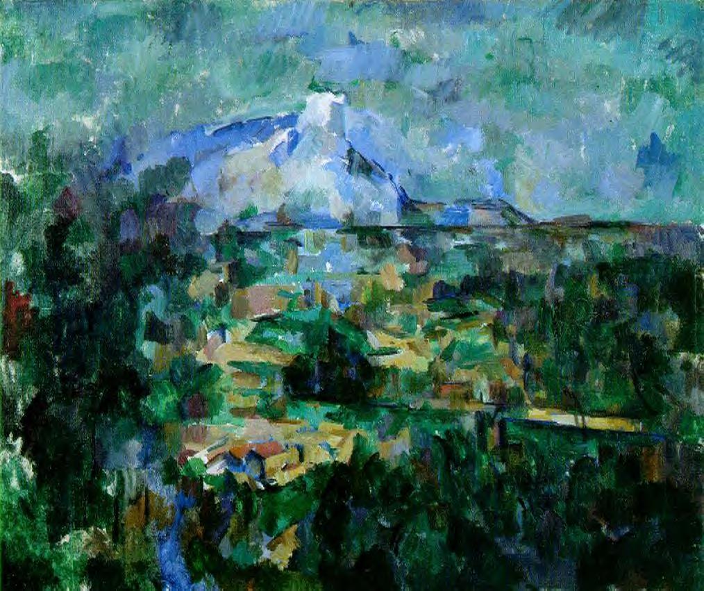 Cezanne Mont Sainte Victoire Seen From Lauves File:mont Sainte-victoire Seen