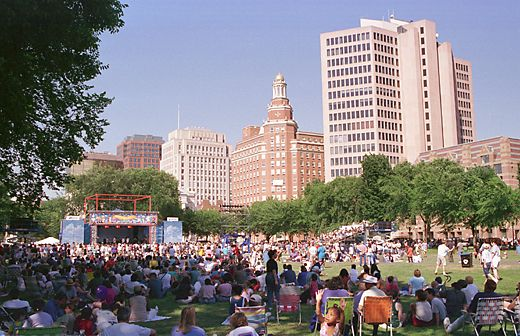 The New Haven Green