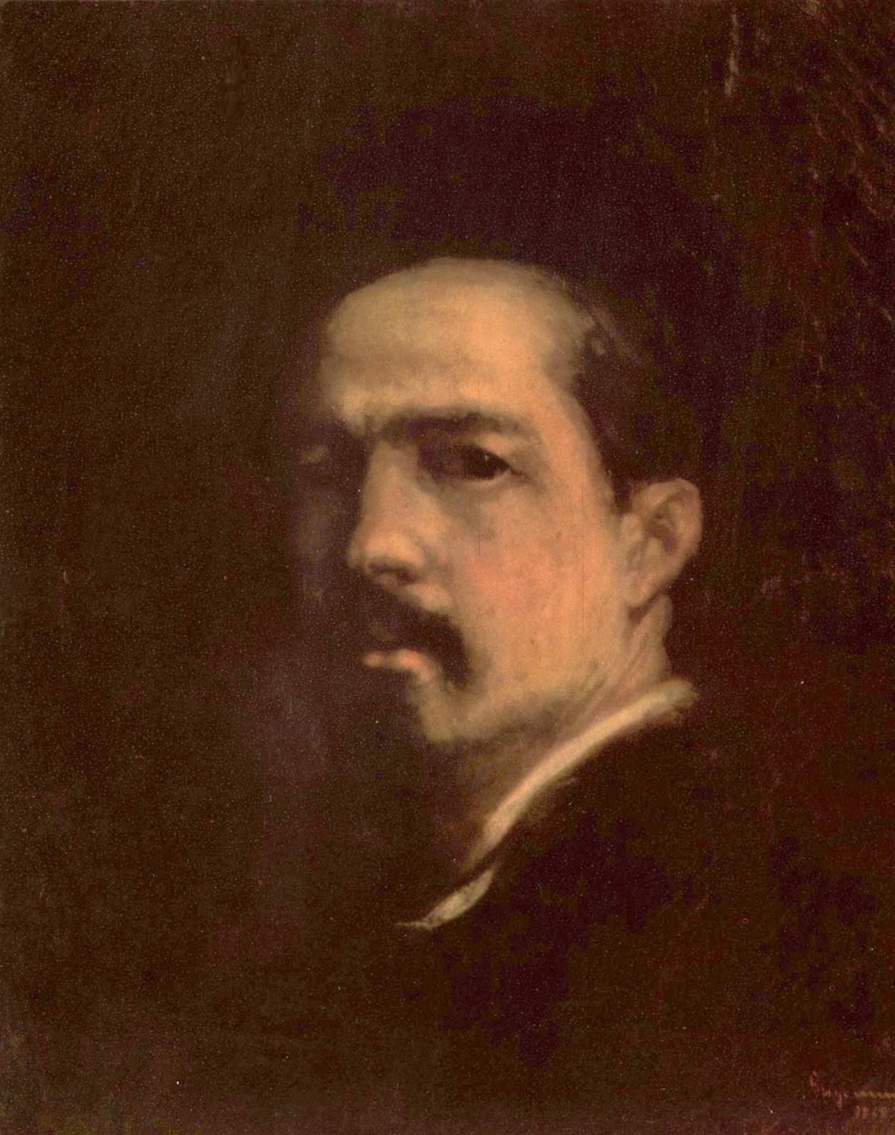 Autoportret (pictură de Nicolae Grigorescu) - Wikipedia
