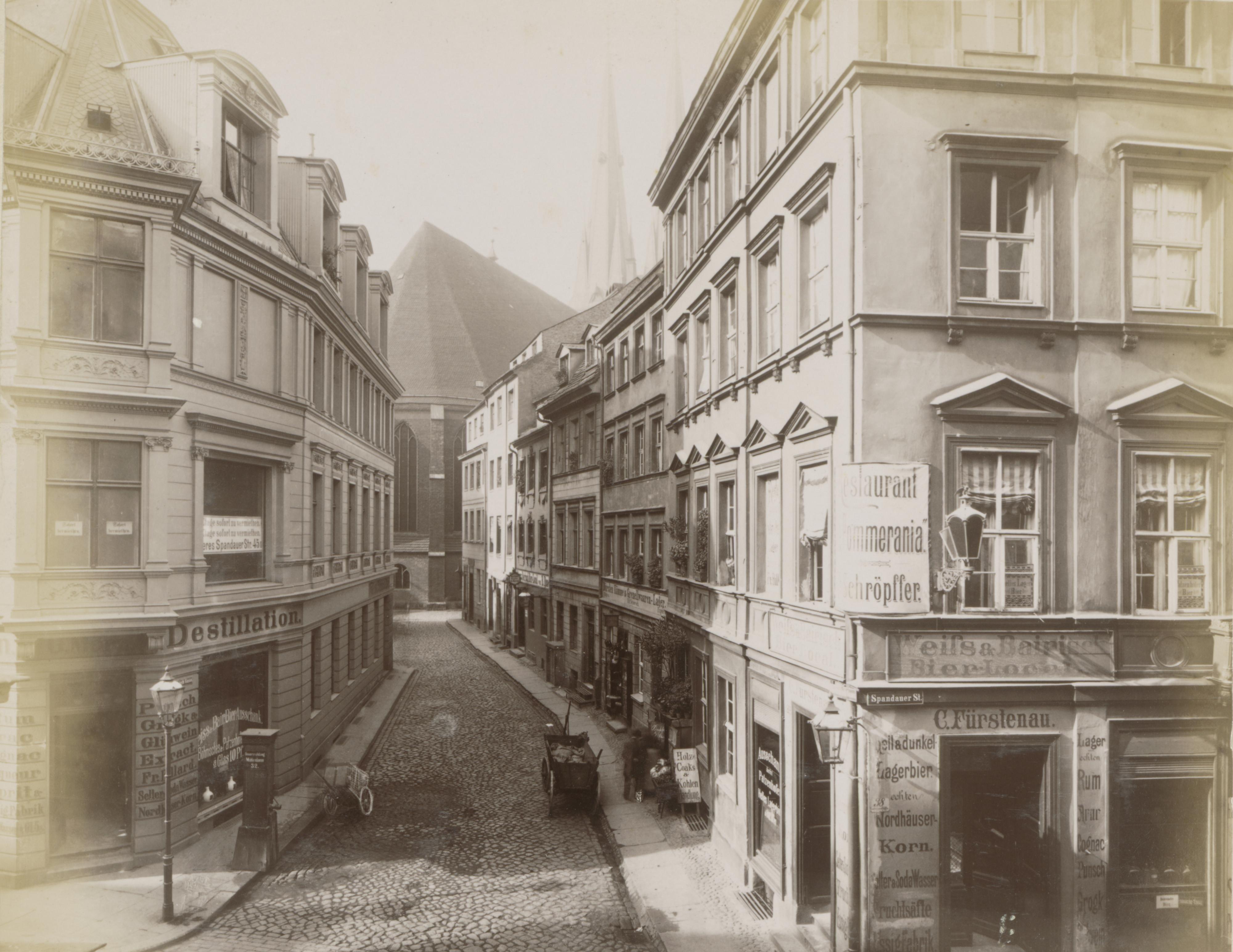 Nikolaikirchgasse Berlin ca. 1885.jpg