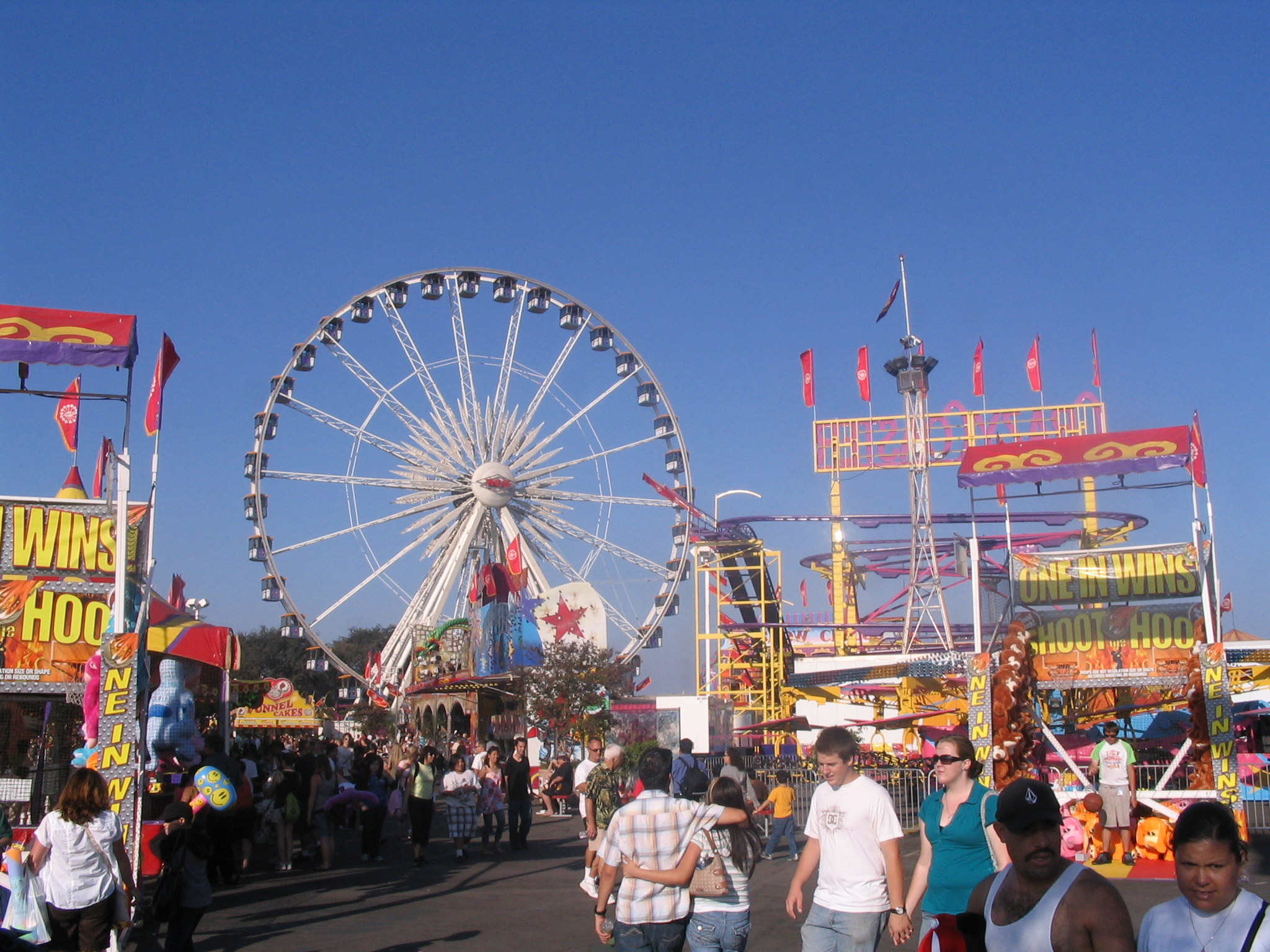 Orange County Fair Rides and Games