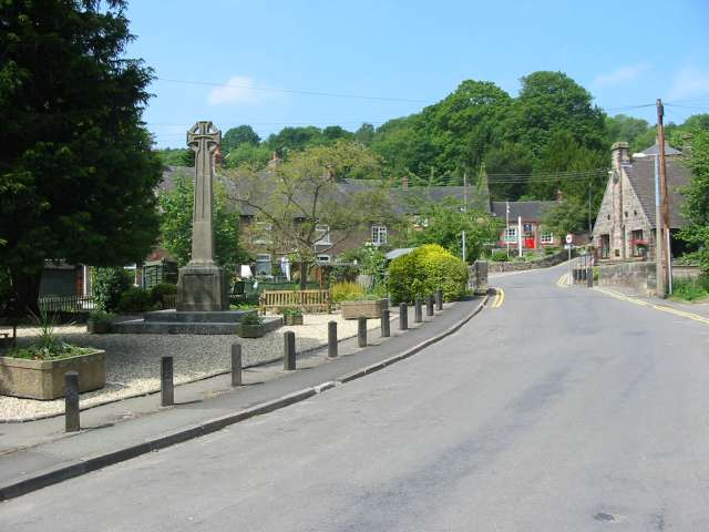 Oakamoor Village Centre - geograph.org.uk - 458933