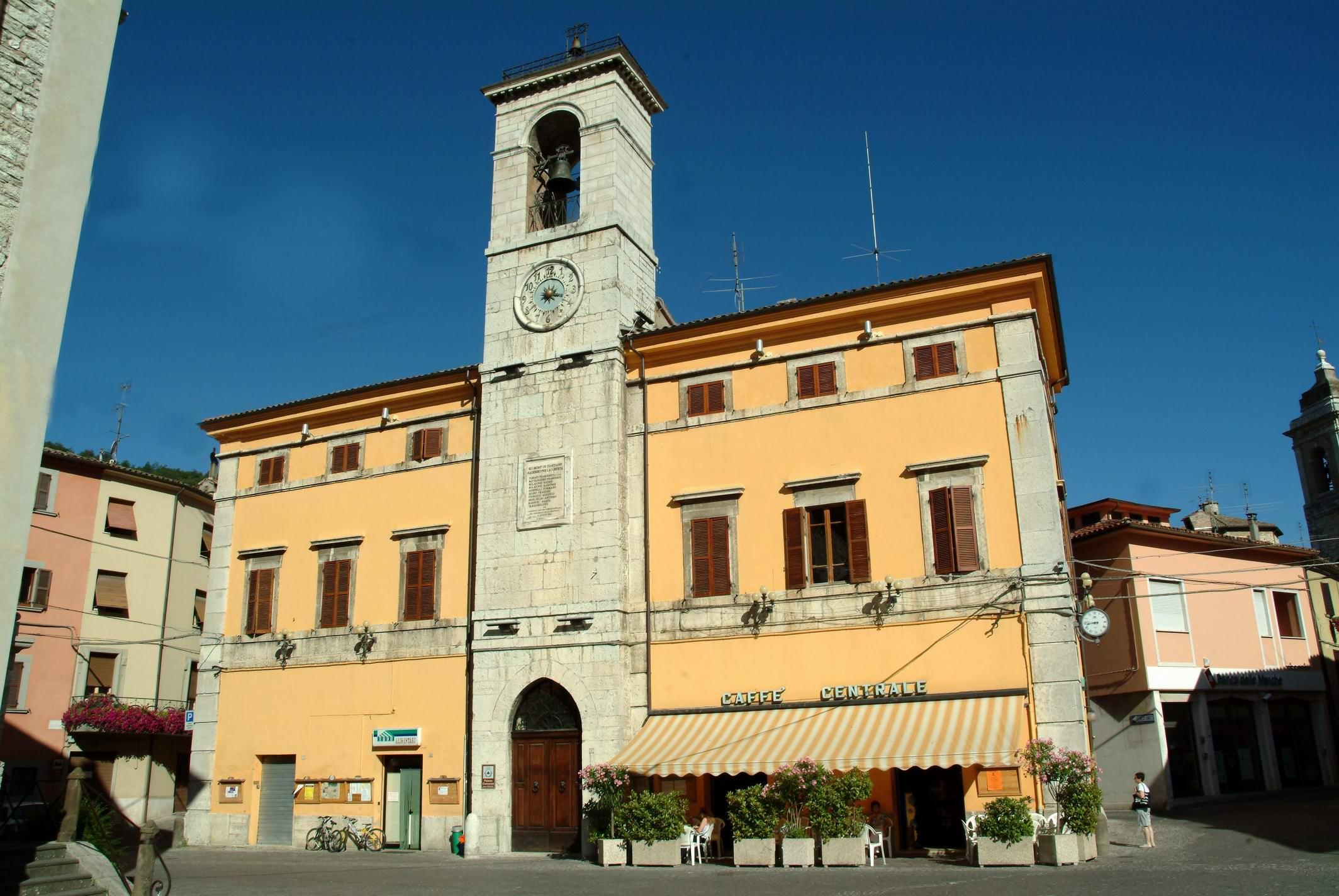 Palazzo Comunale van Cantiano