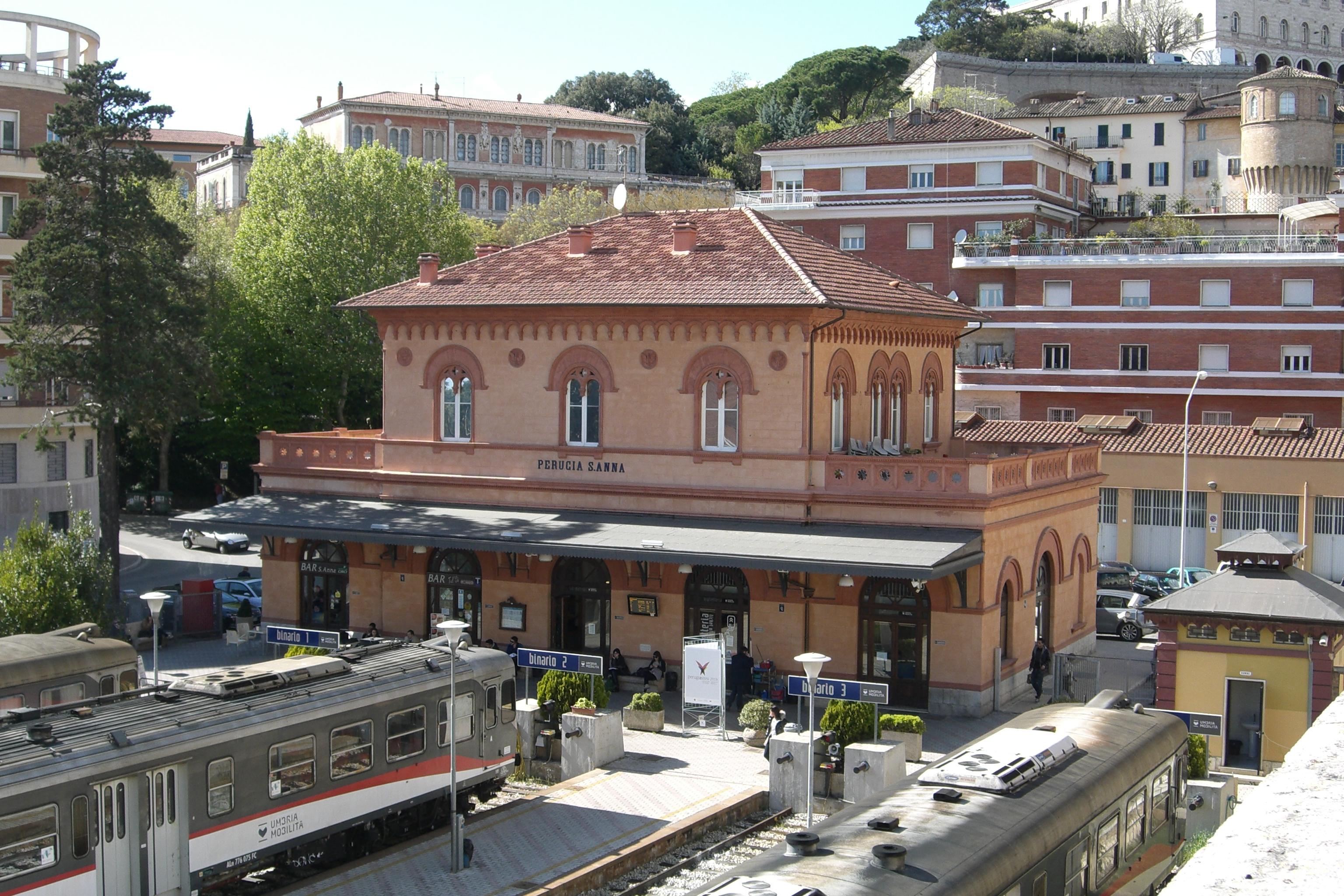 Stazione Di Perugia Sant Anna Wikipedia