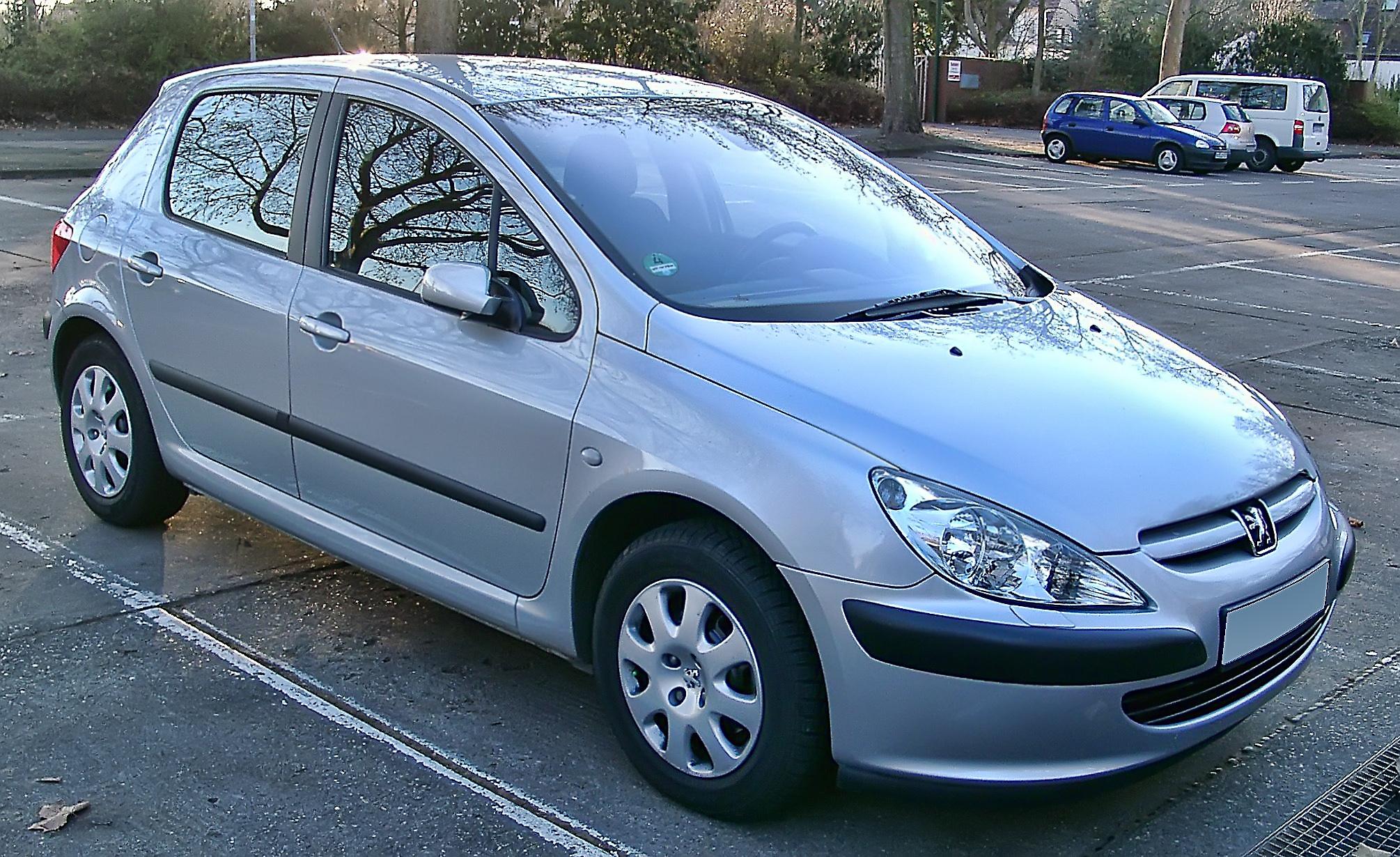 File:Peugeot 307 front 20071217.jpg