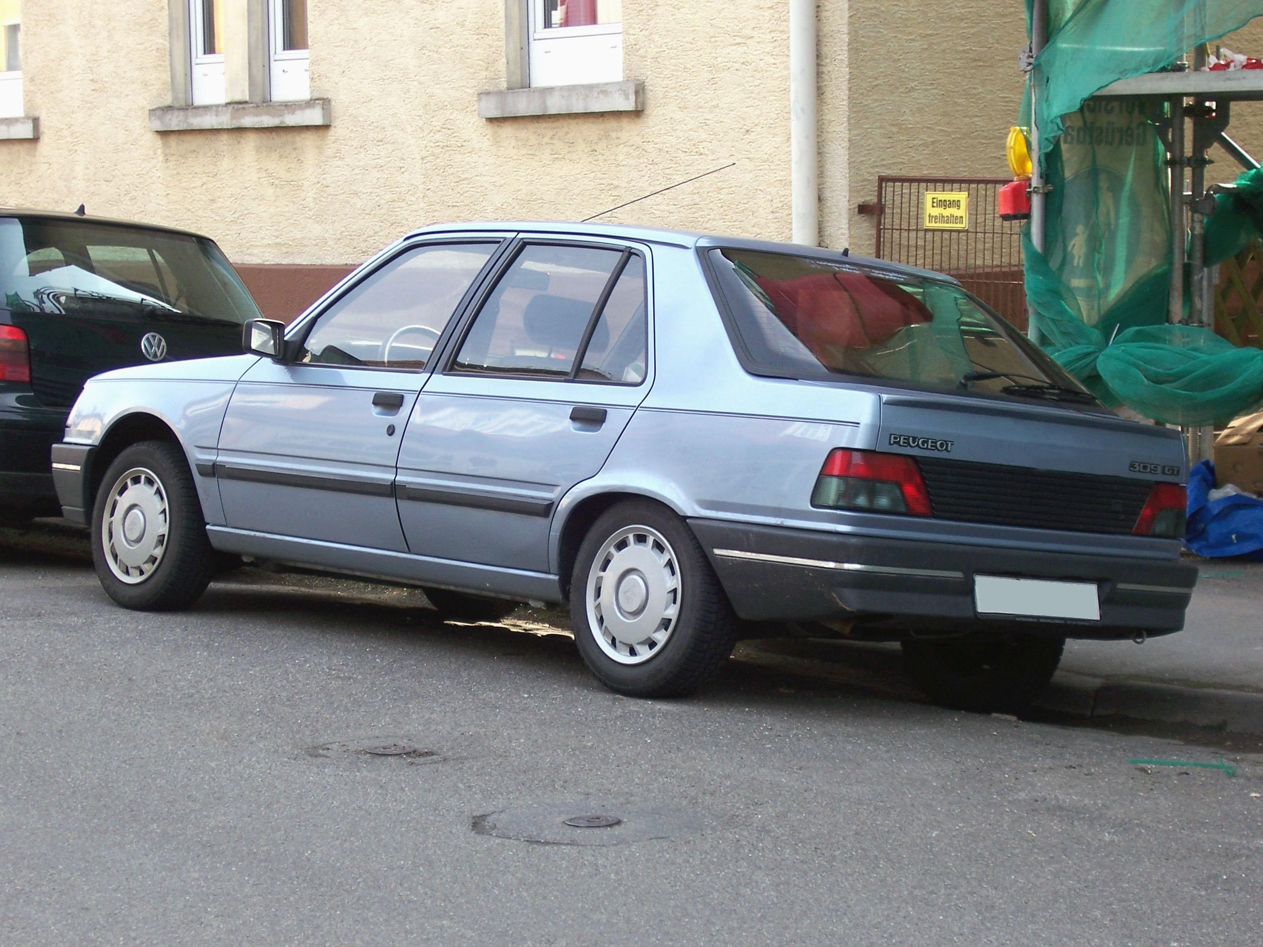 File Peugeot 309 5t Serie 2 Heck Jpg Wikimedia Commons