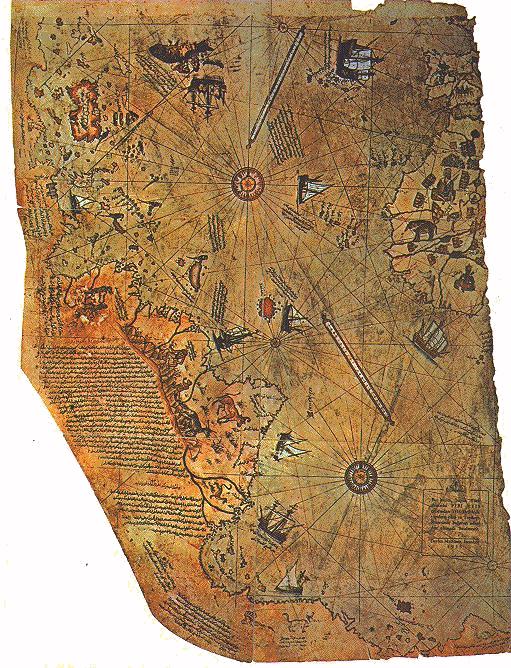 MAPAS DEL MUNDO ANTIGUO Piri_reis_harita