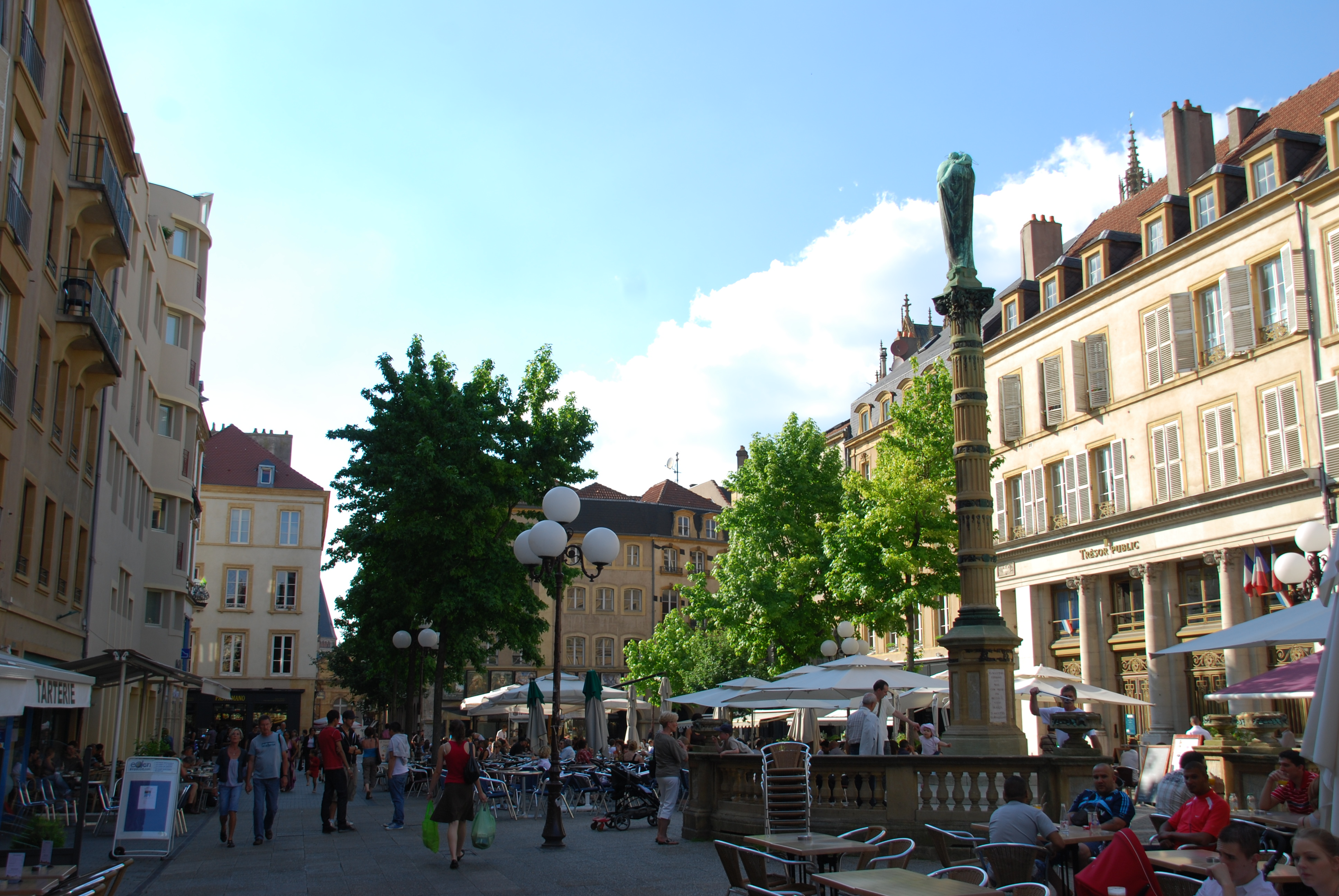 Restaurants Metz Place Saint Jacques