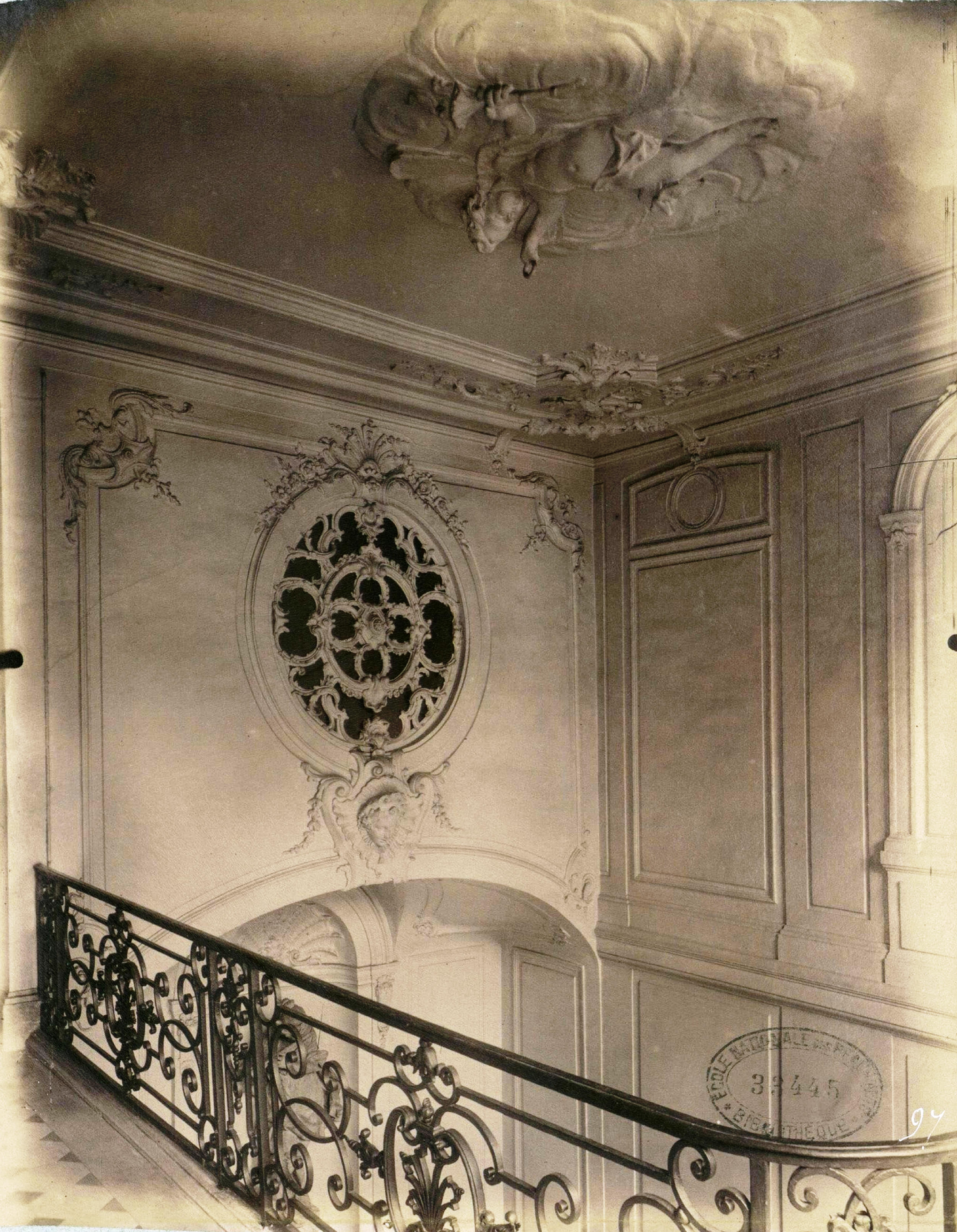Fichier plafond escalier h tel dodun wikip dia - Hotel miroir plafond paris ...