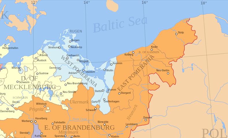 Treaty Of Stettin 1653 Wikipedia