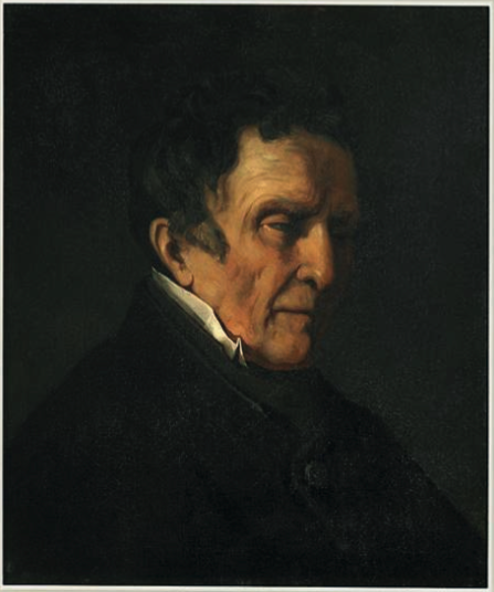 Portrait du grand-père Oudot, Gustave Courbet, 1847.