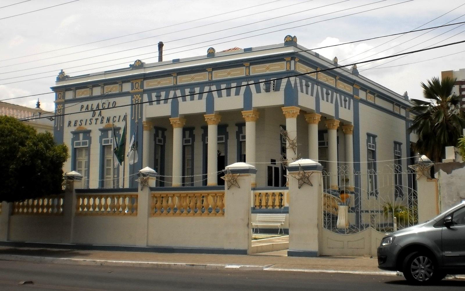 Resultado de imagem para foto da sede da prefeitura de mossoro