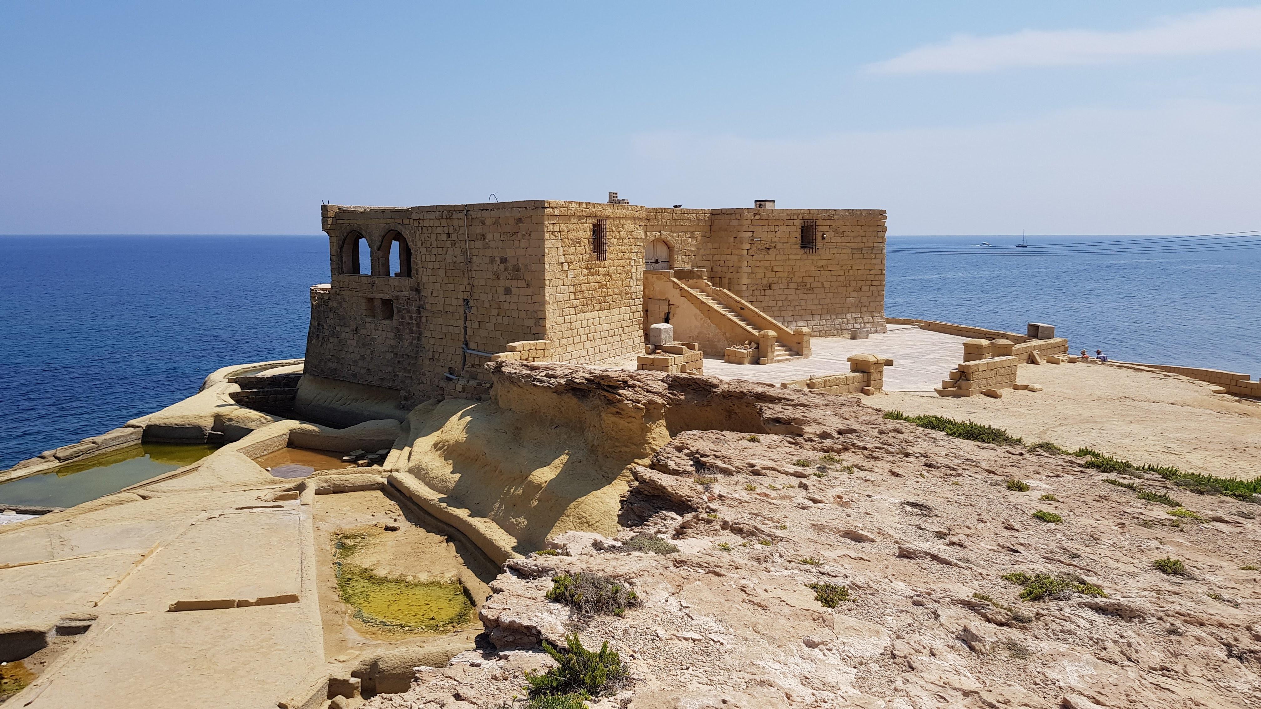 Batería de Qolla l-Bajda - Isla de Gozo, Malta