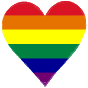 rainbow heart for the #lovewins!!