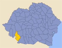 Romania 1930 county Mehedinti