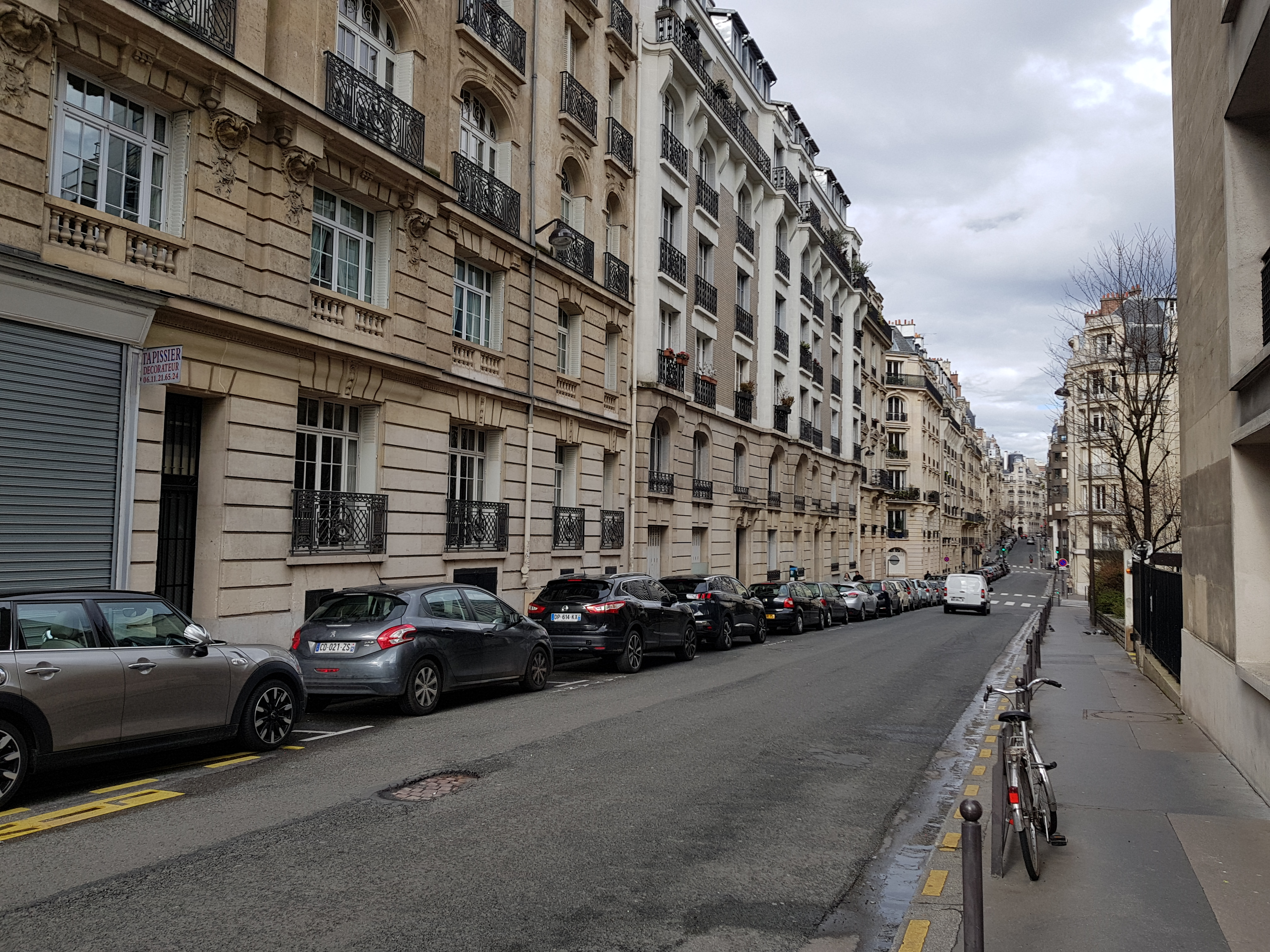 Tapissier Paris 20 file:rue george sand paris - wikimedia commons