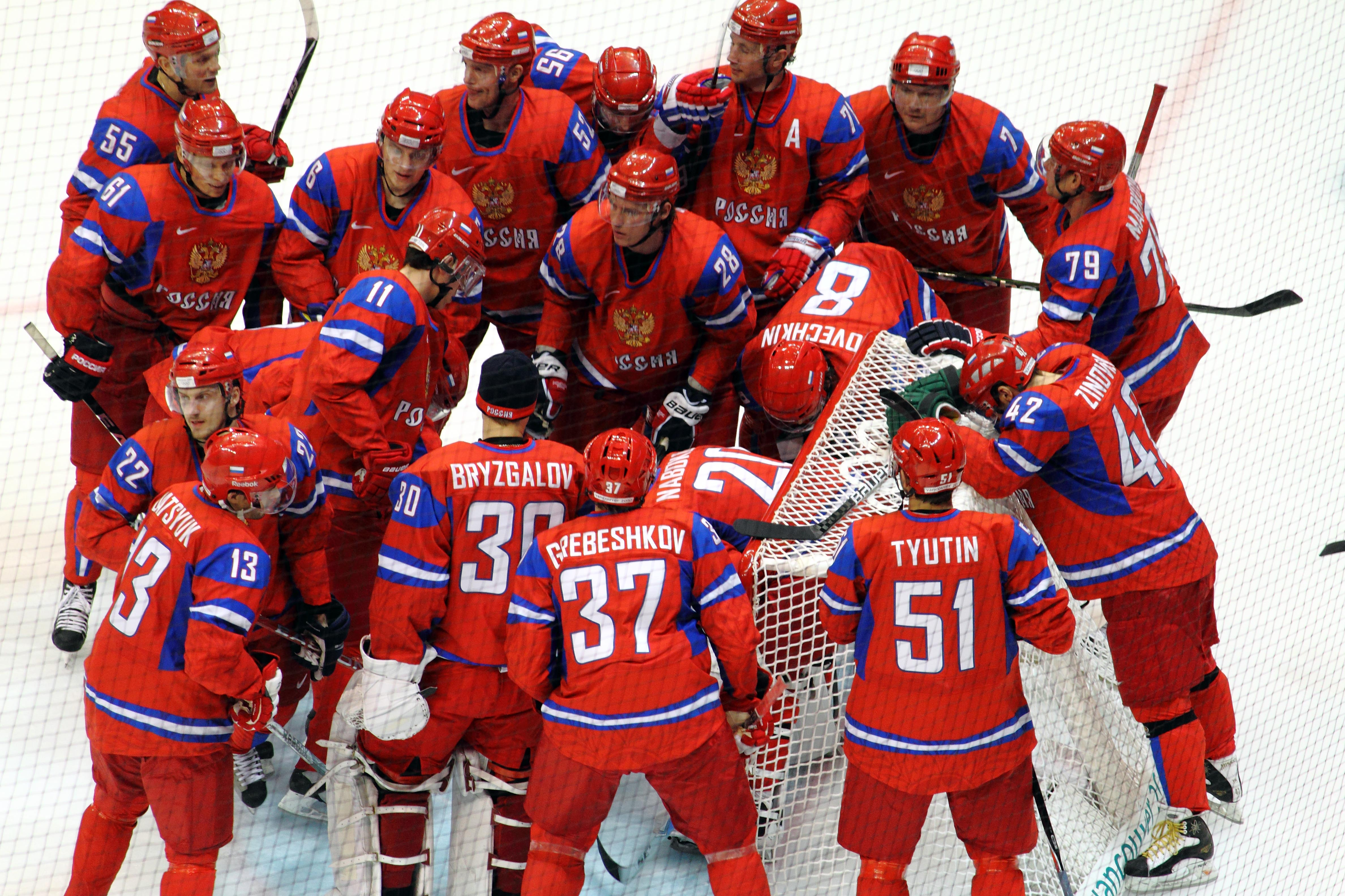 List Of Olympic Men S Ice Hockey Players For Russia Wikipedia