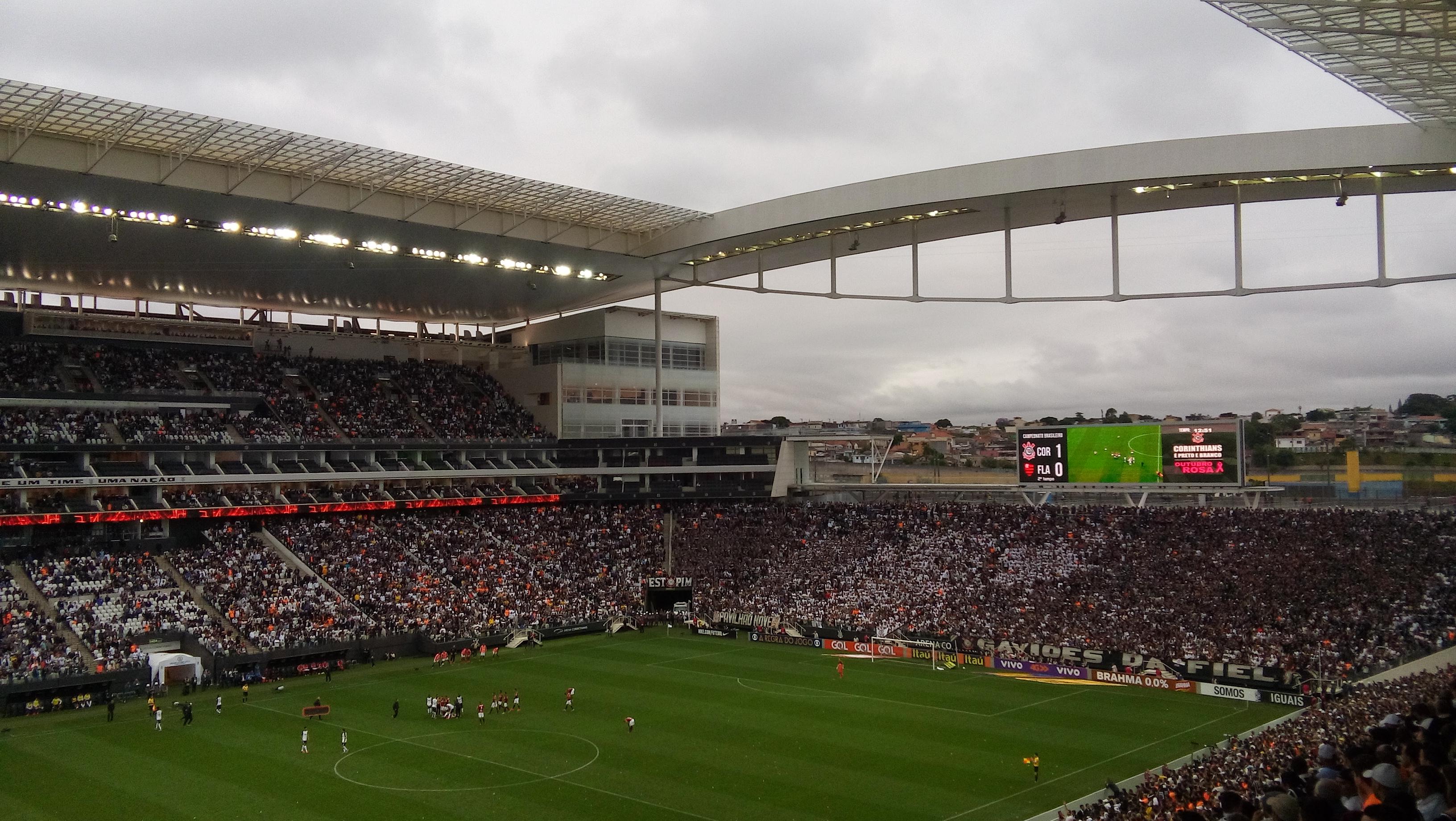 e2494233d5 Corinthians x Flamengo na Arena Corinthians.