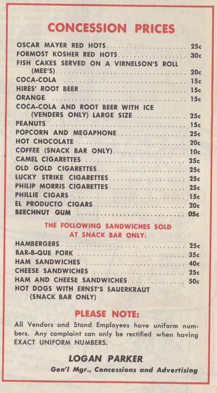 Bc Cafe Prices
