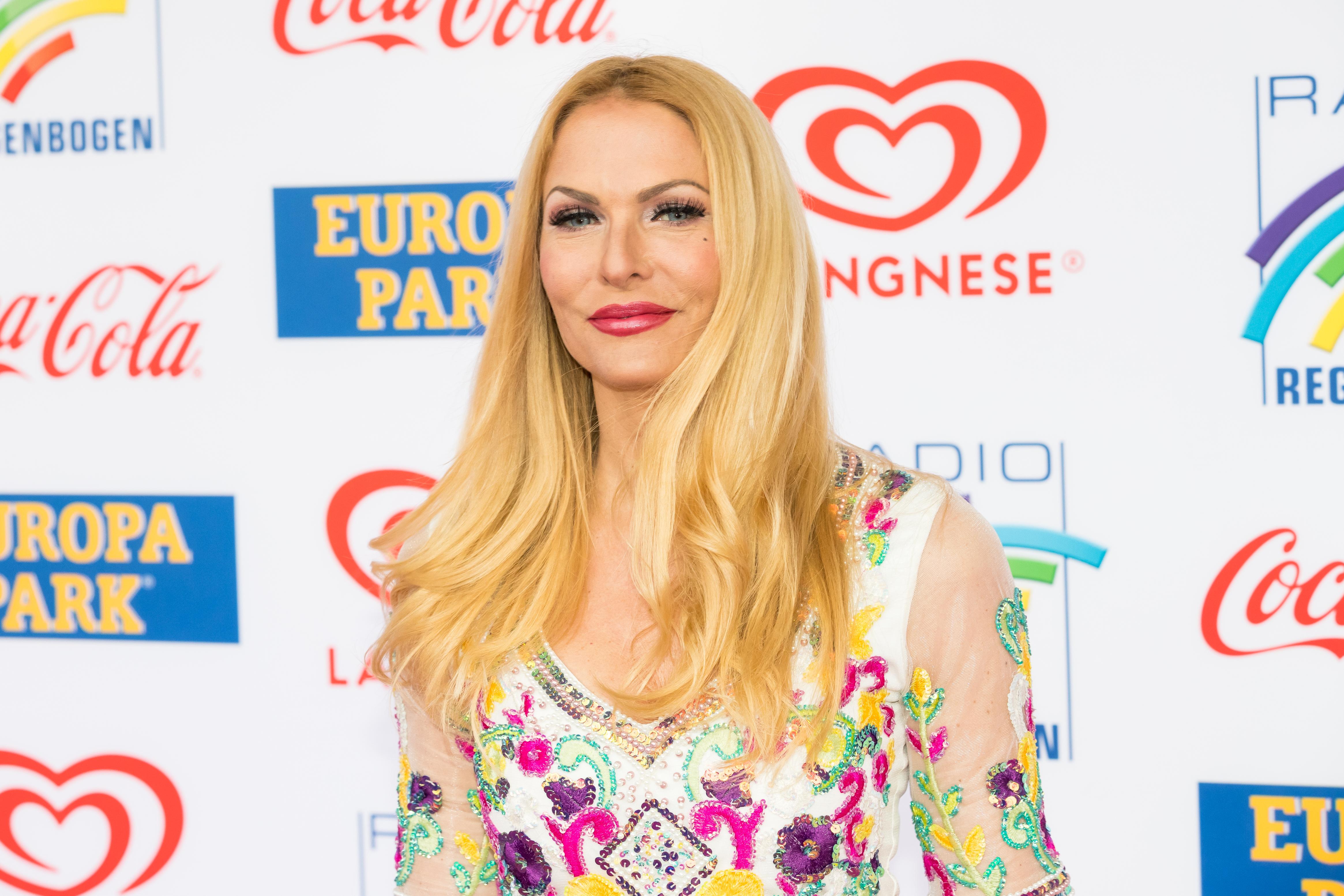 Er 46-år gammel 177 cm høj Sonya Kraus i 2020