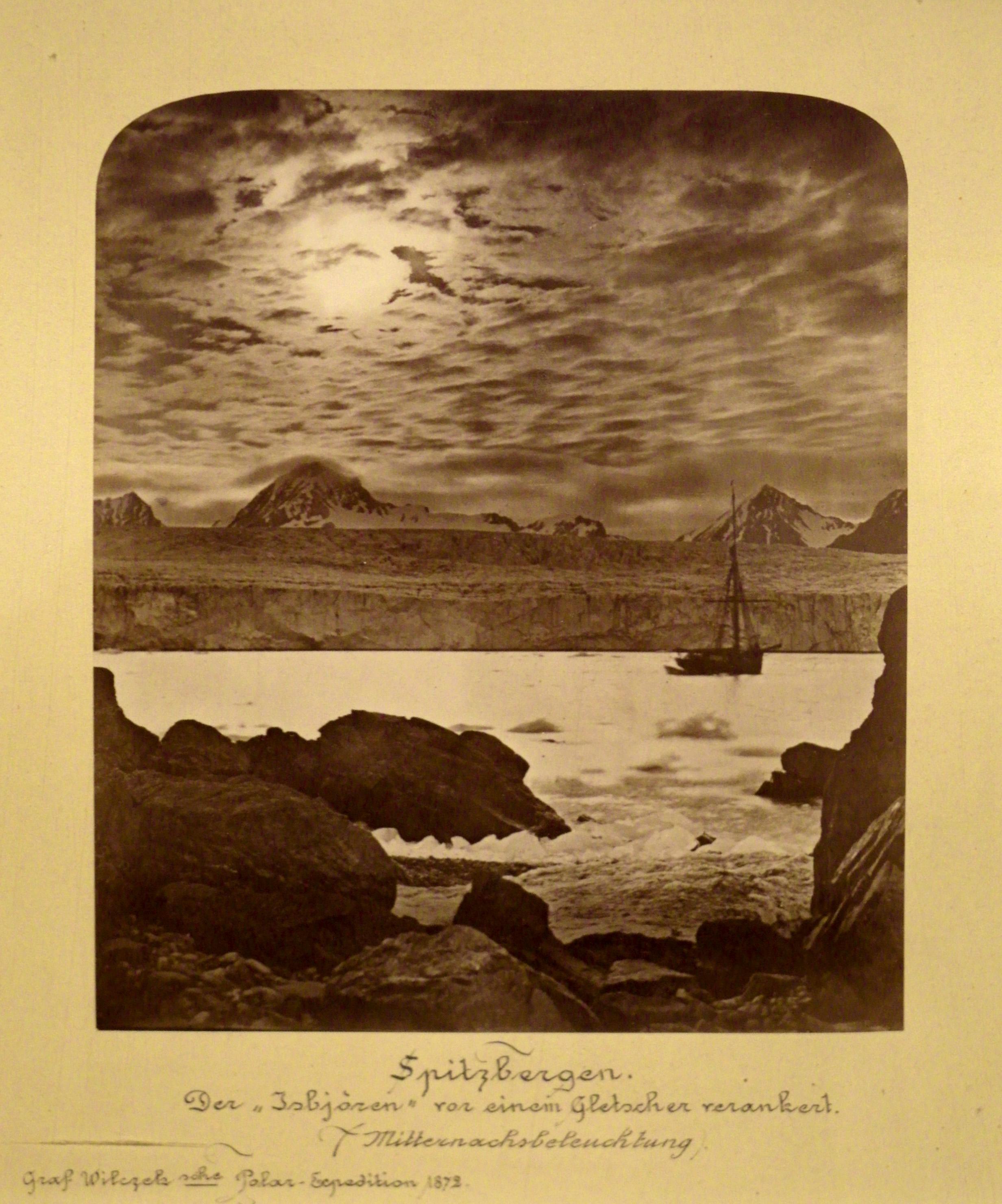 Spitsbergen, byBurger, in1872