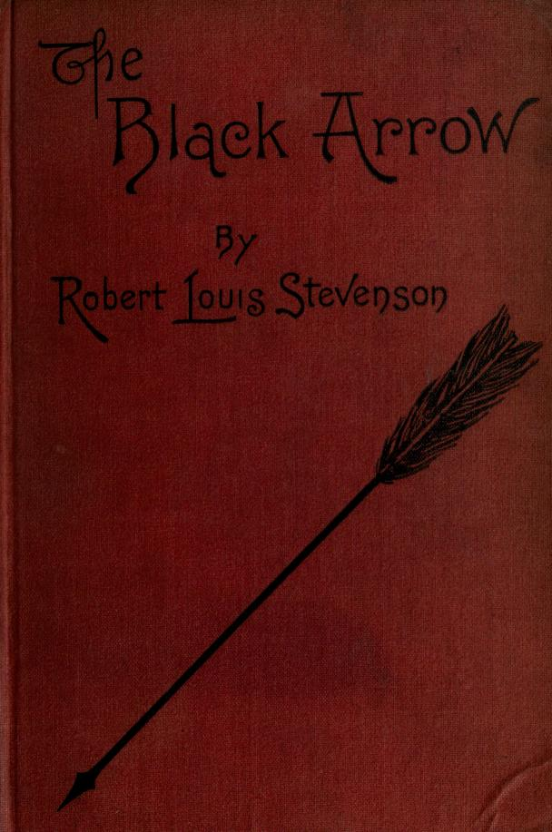 The Black Arrow By Robert Louis Stevenson - cover