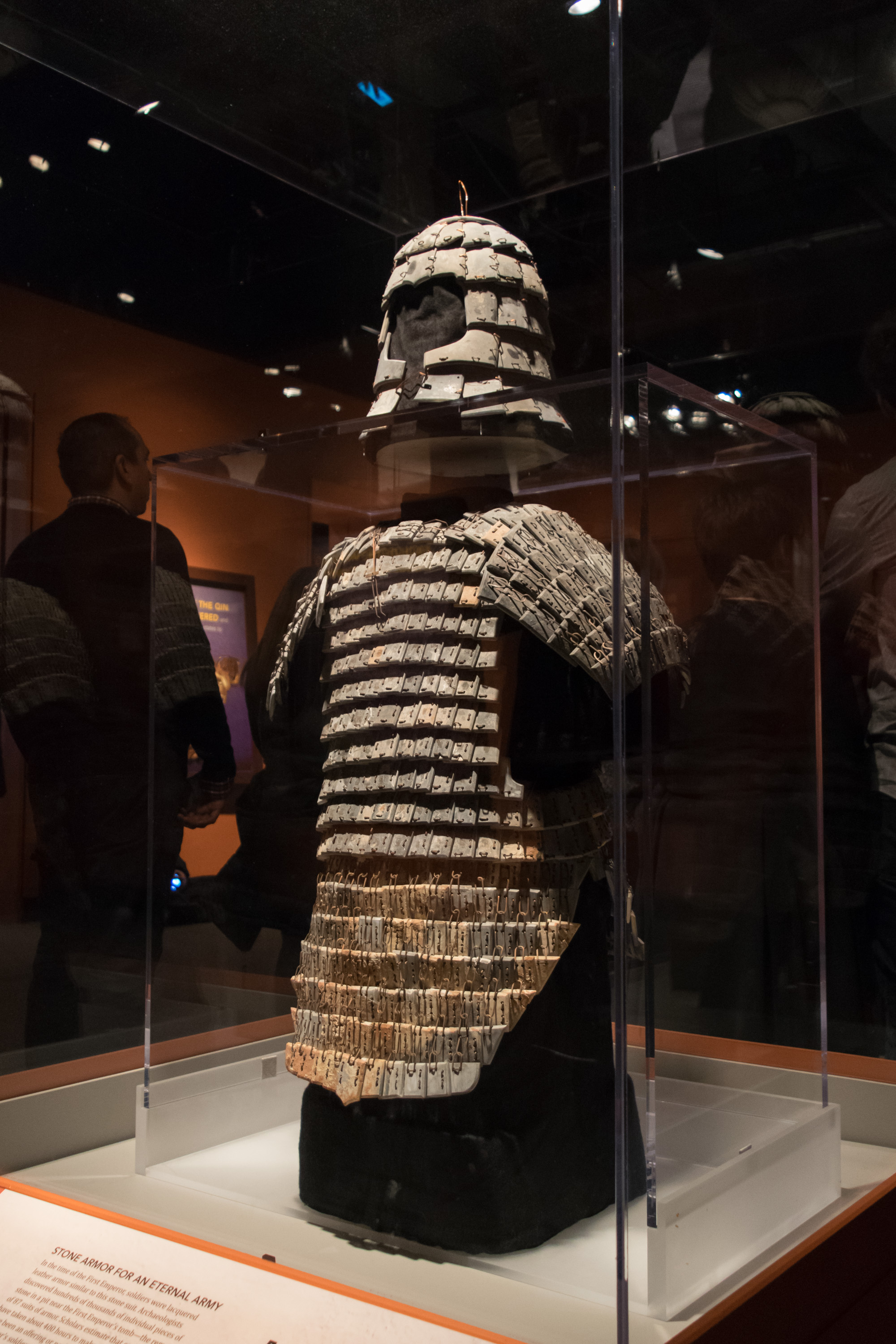 file stone helmet and armor of the terracotta army jpg