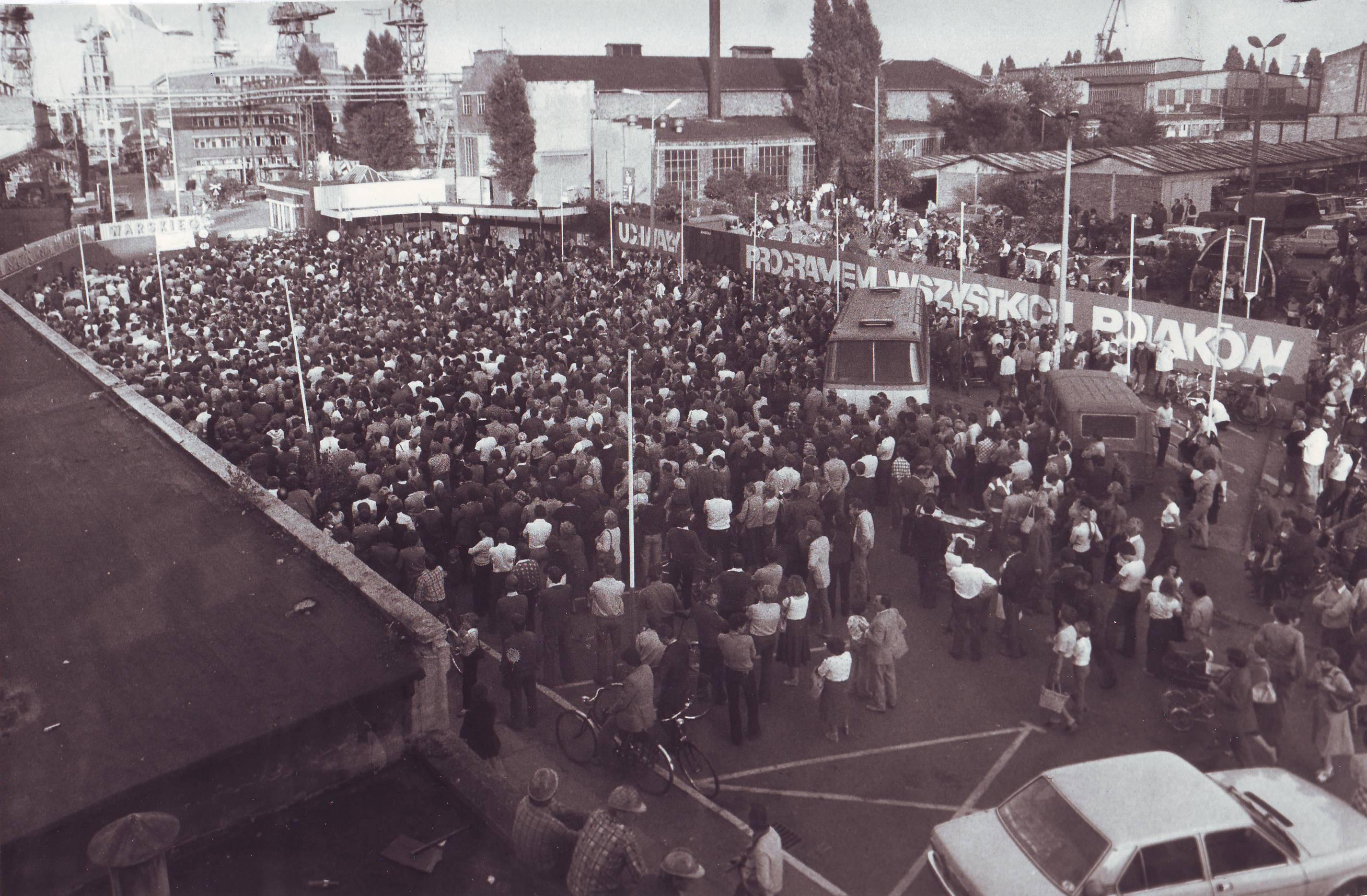 Szczecin, Strike, 1980