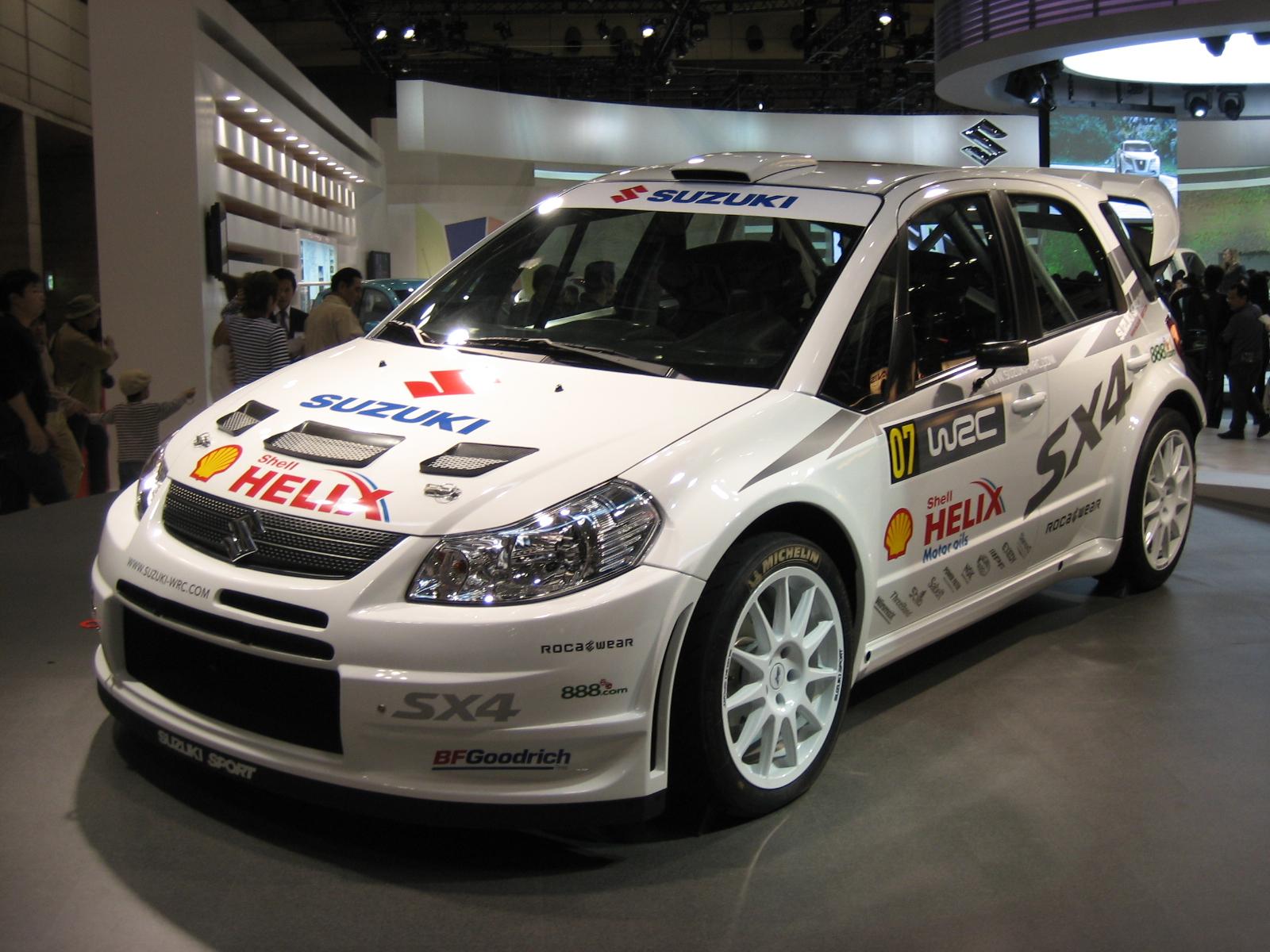 Suzuki Wrc Car