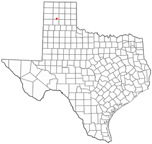 Lage von Amarillo in Texas
