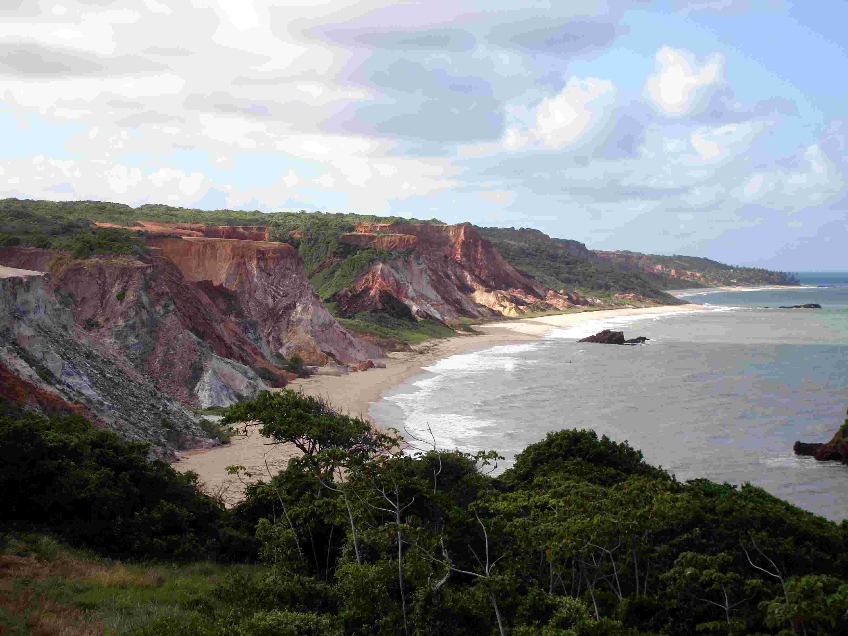 Tambaba Beach (Tambaba) nudist beach brazil