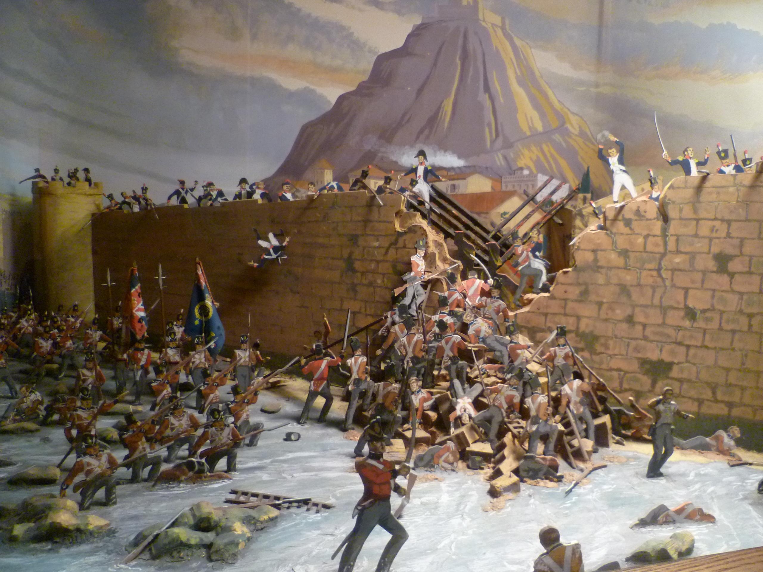 File:The capture of San Sebastián, July 1813.jpg