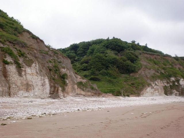 The seaward end of Dane's Dyke - geograph.org.uk - 1358781