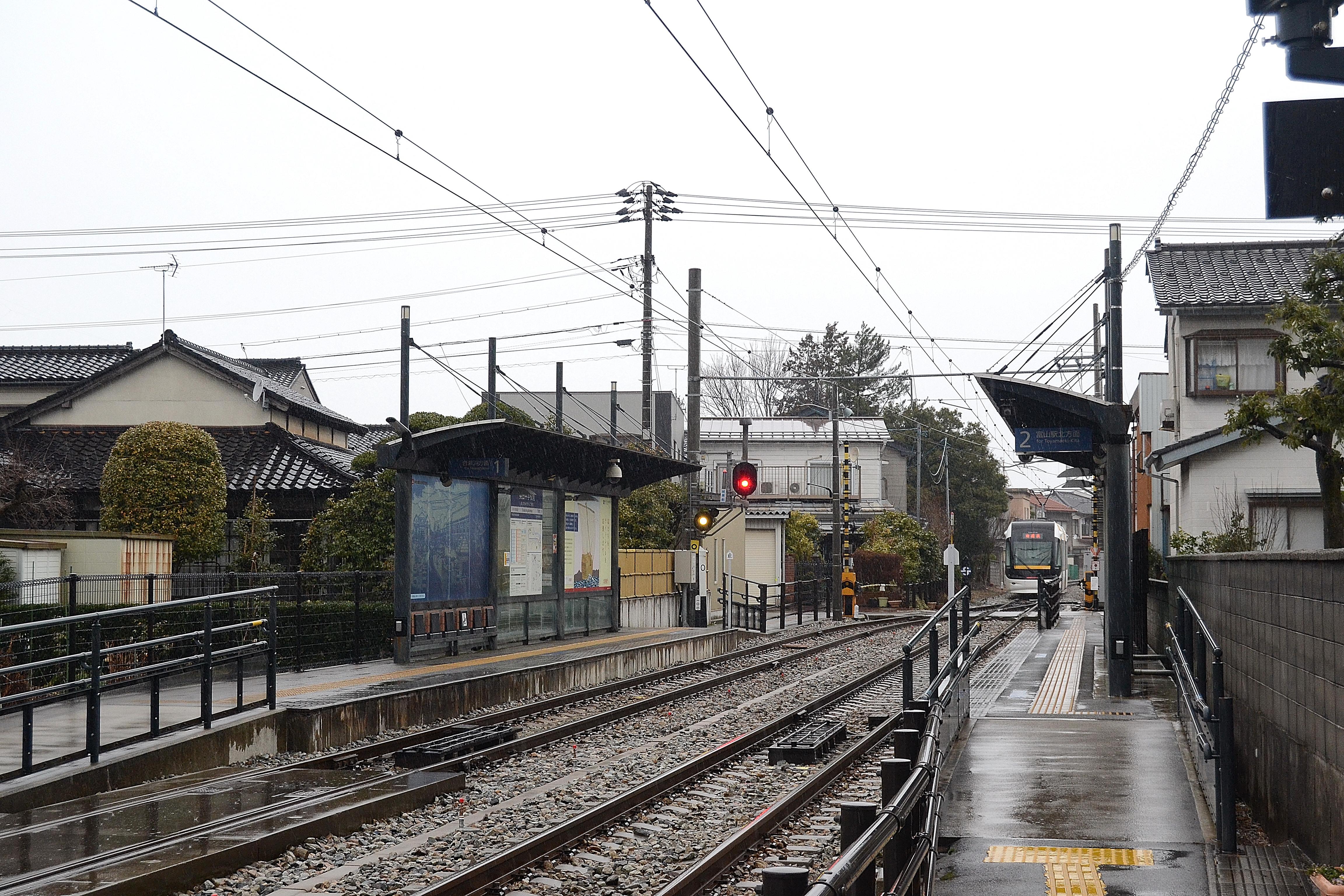 Toyama light rail okudachugakkomae station for iwasehama toyama light rail okudachugakkomae station for iwasehamag mozeypictures Choice Image