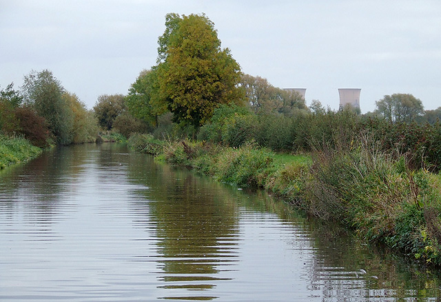 Trent and Mersey Canal near Egginton, Derbyshire - geograph.org.uk - 1586644
