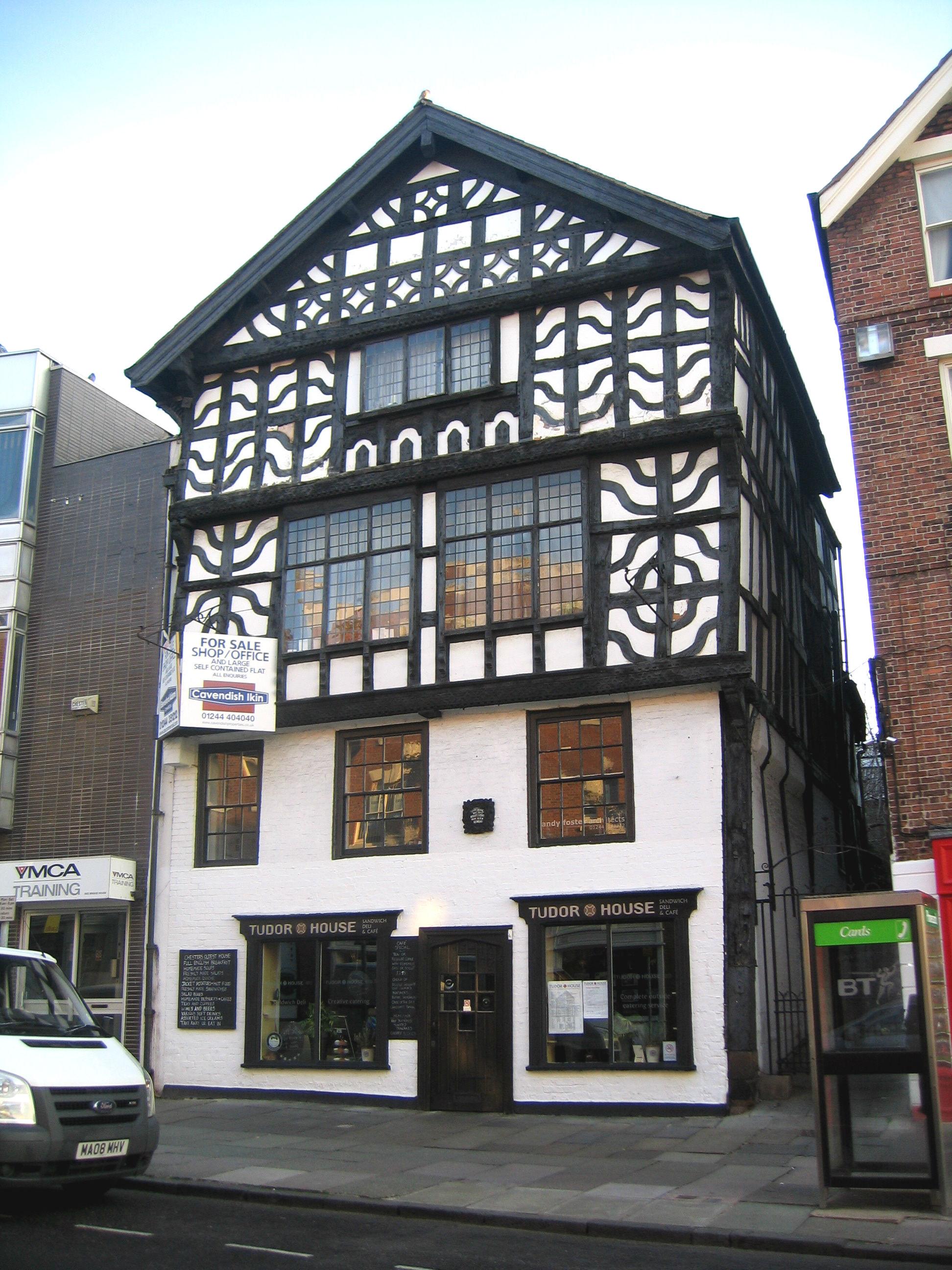 File Tudor House Chester Jpg Wikimedia Commons
